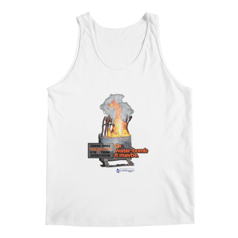 Dumpster Fire! Men's Regular Tank by Lefthugger