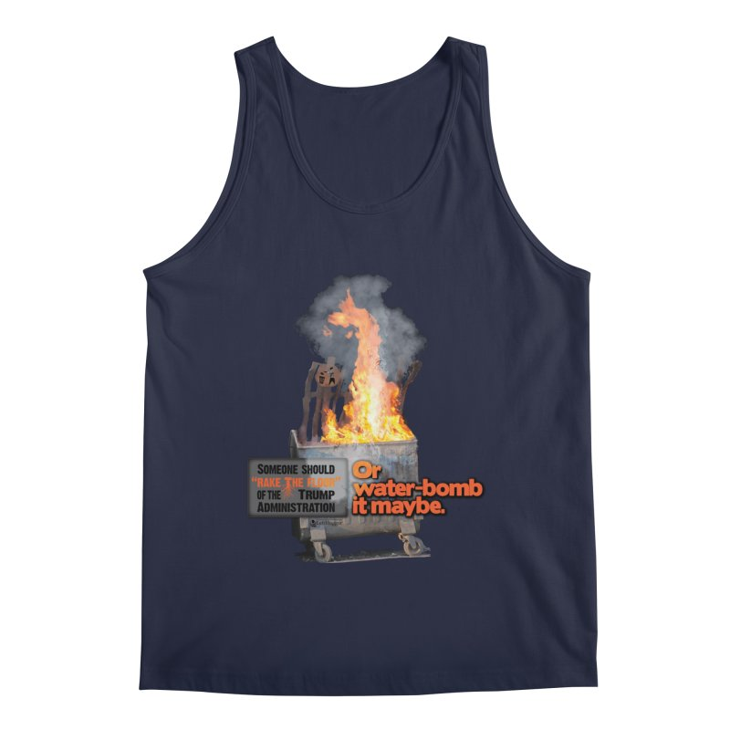 Dumpster Fire! Men's Regular Tank by Lefthugger