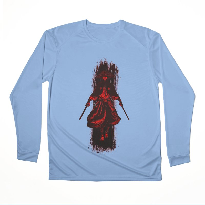 Kills with No Knives (Flying Guillotine) - Red Women's Longsleeve T-Shirt by legendaryweapons's Artist Shop