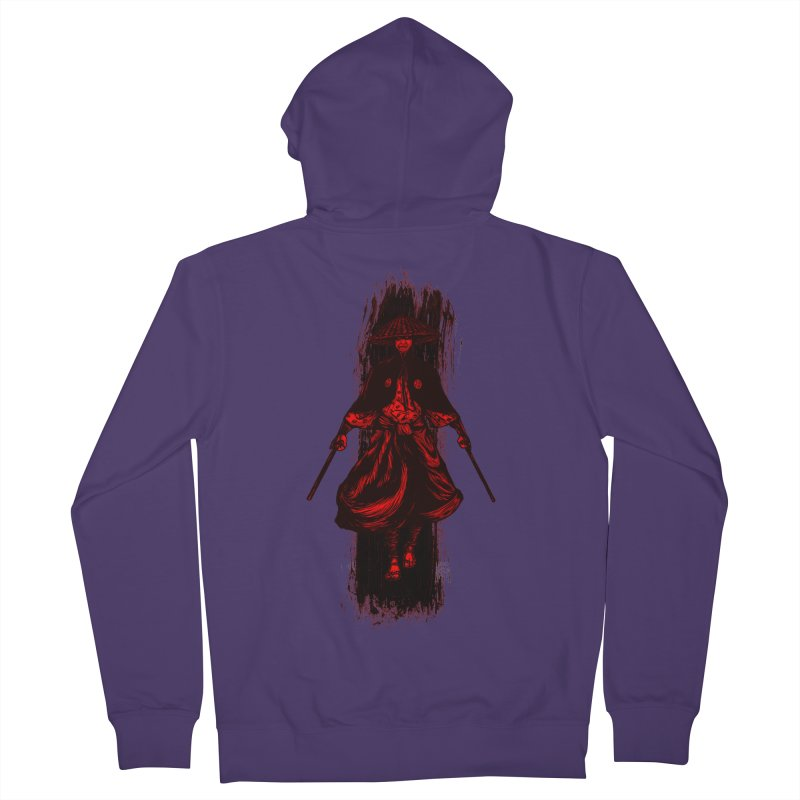 Kills with No Knives (Flying Guillotine) - Red Women's Zip-Up Hoody by legendaryweapons's Artist Shop