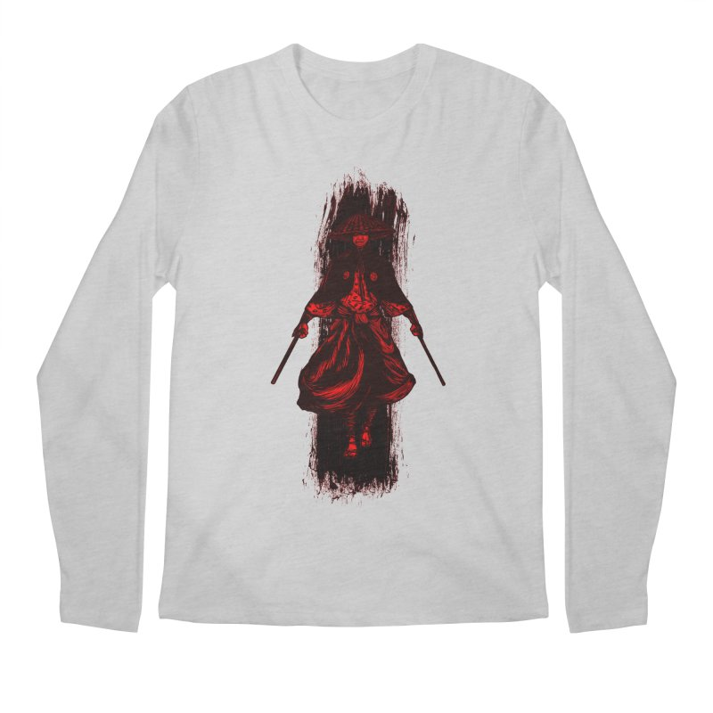 Kills with No Knives (Flying Guillotine) - Red Men's Longsleeve T-Shirt by legendaryweapons's Artist Shop