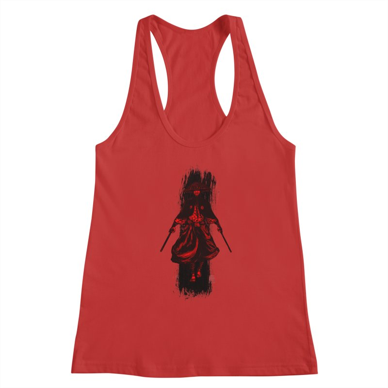 Kills with No Knives (Flying Guillotine) - Red Women's Tank by legendaryweapons's Artist Shop