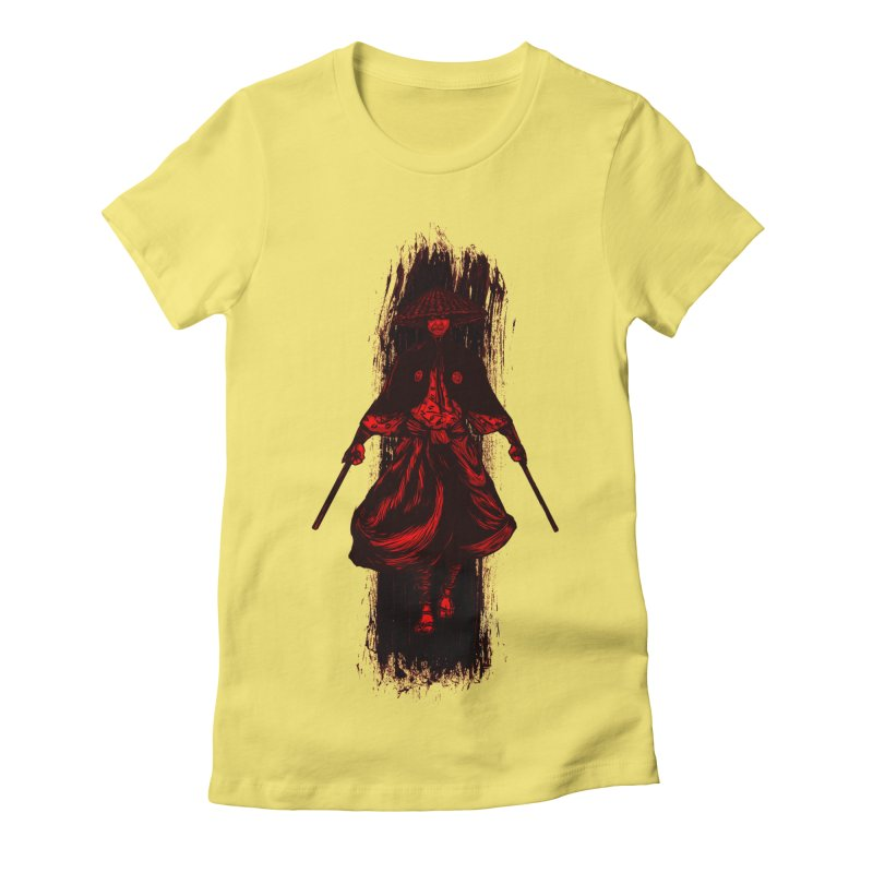 Kills with No Knives (Flying Guillotine) - Red Women's T-Shirt by legendaryweapons's Artist Shop