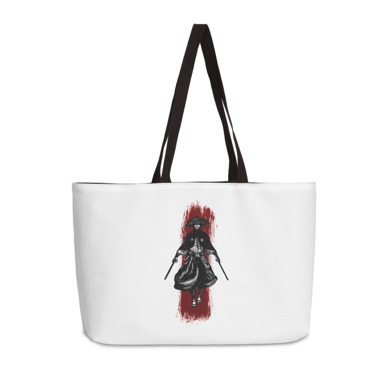 Kills with No Knives (Flying Guillotine) - White Accessories Bag by legendaryweapons's Artist Shop