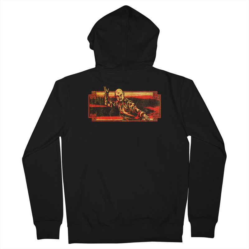 Tai Chi Master Men's French Terry Zip-Up Hoody by legendaryweapons's Artist Shop