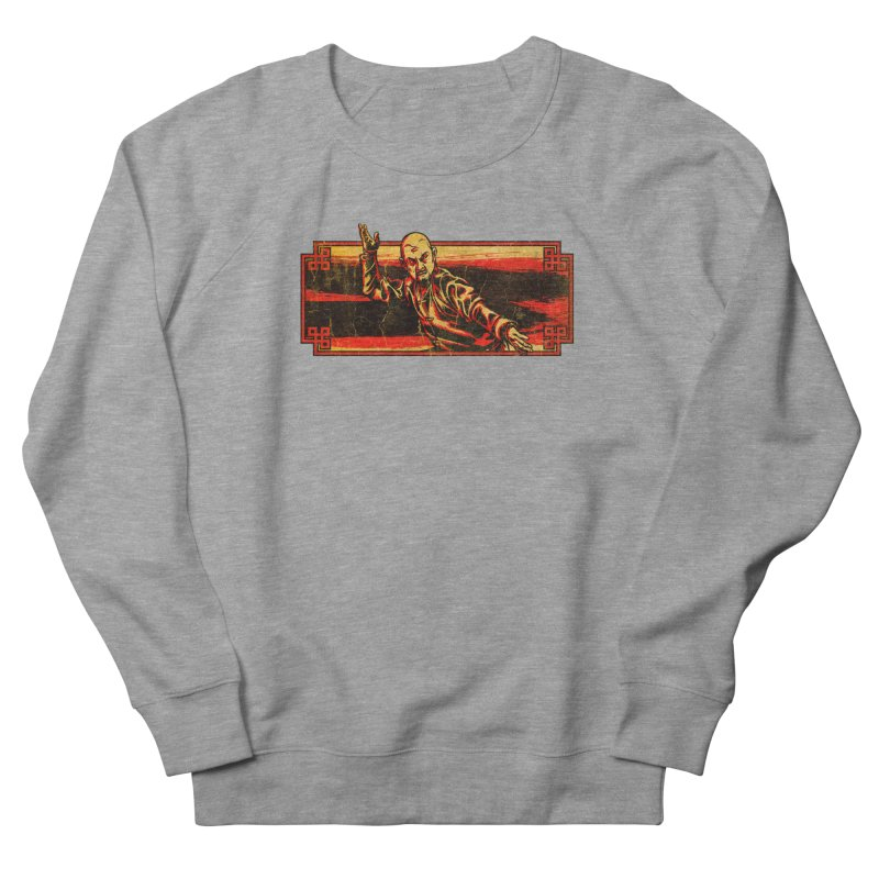 Tai Chi Master Men's French Terry Sweatshirt by legendaryweapons's Artist Shop