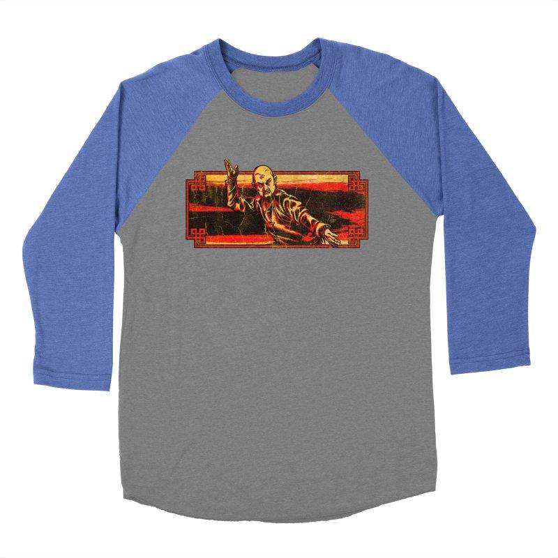 Tai Chi Master Men's Baseball Triblend Longsleeve T-Shirt by legendaryweapons's Artist Shop