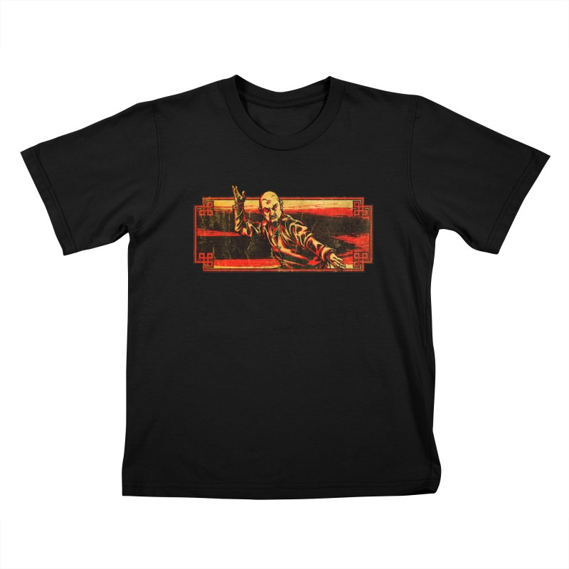 Tai Chi Master Kids T-Shirt by legendaryweapons's Artist Shop
