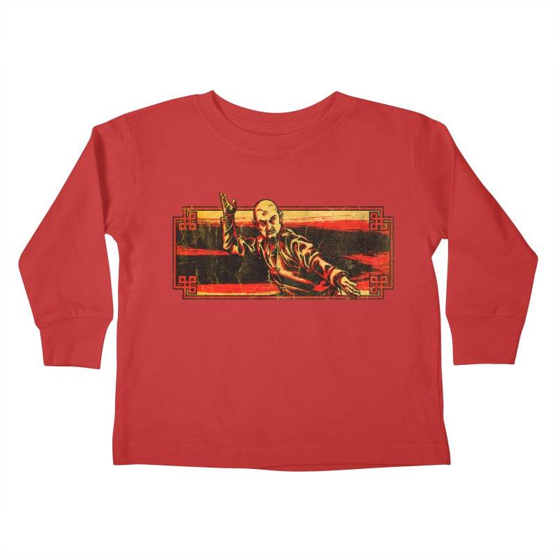Tai Chi Master Kids Toddler Longsleeve T-Shirt by legendaryweapons's Artist Shop