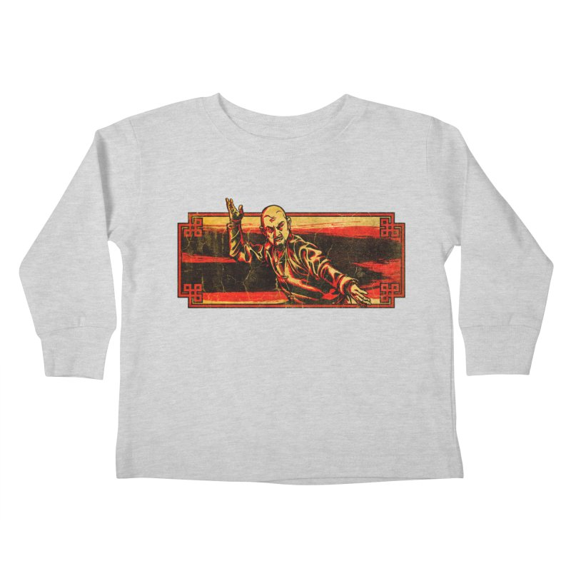 Tai Chi Master Kids Toddler Longsleeve T-Shirt by legendaryweapons's Artist Shop