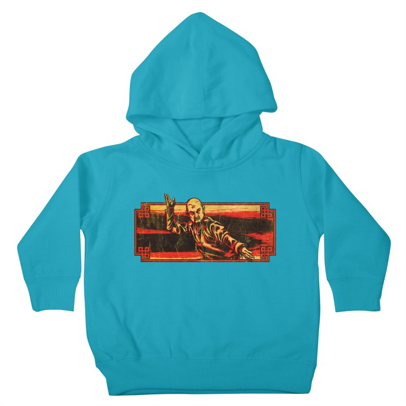 Tai Chi Master Kids Toddler Pullover Hoody by legendaryweapons's Artist Shop