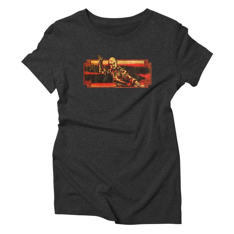 Tai Chi Master Women's Triblend T-Shirt by legendaryweapons's Artist Shop