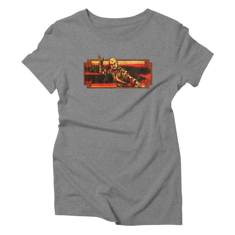 Tai Chi Master Women's Triblend T-Shirt by legendaryweapons's Artist Shop