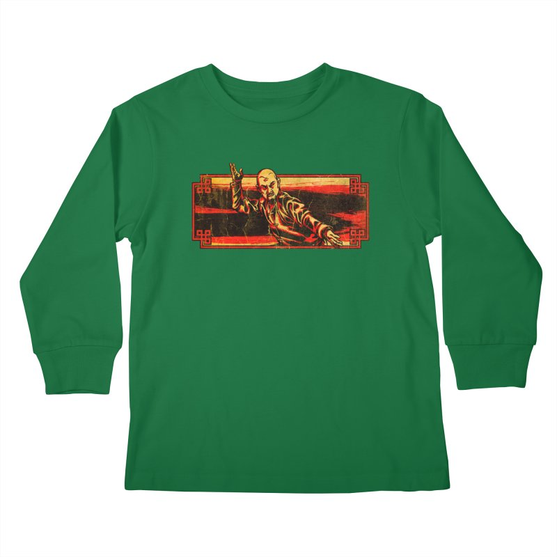 Tai Chi Master Kids Longsleeve T-Shirt by legendaryweapons's Artist Shop