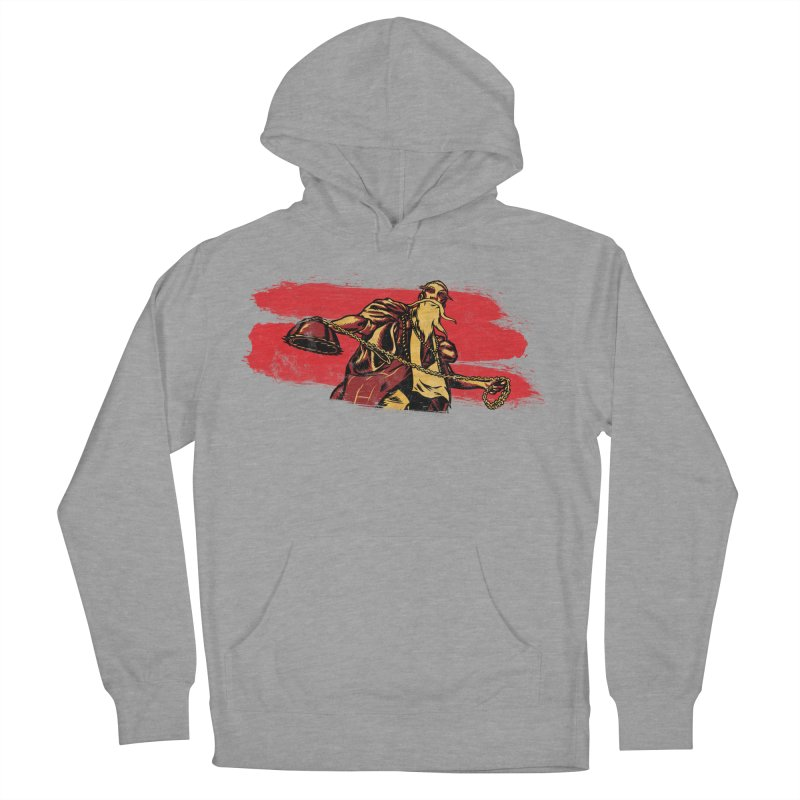The Master of the Flying Guillotine Women's French Terry Pullover Hoody by legendaryweapons's Artist Shop