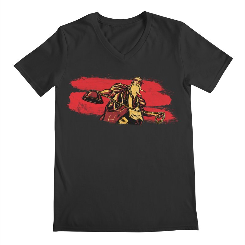 The Master of the Flying Guillotine Men's Regular V-Neck by legendaryweapons's Artist Shop