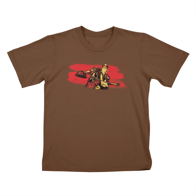 The Master of the Flying Guillotine Kids T-Shirt by legendaryweapons's Artist Shop