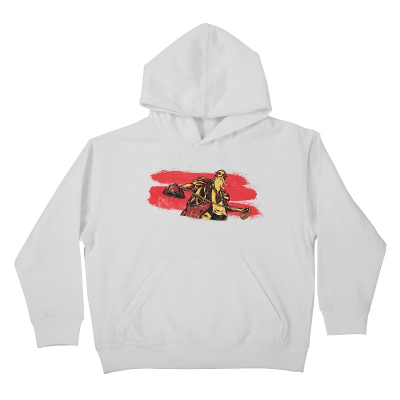 The Master of the Flying Guillotine Kids Pullover Hoody by legendaryweapons's Artist Shop