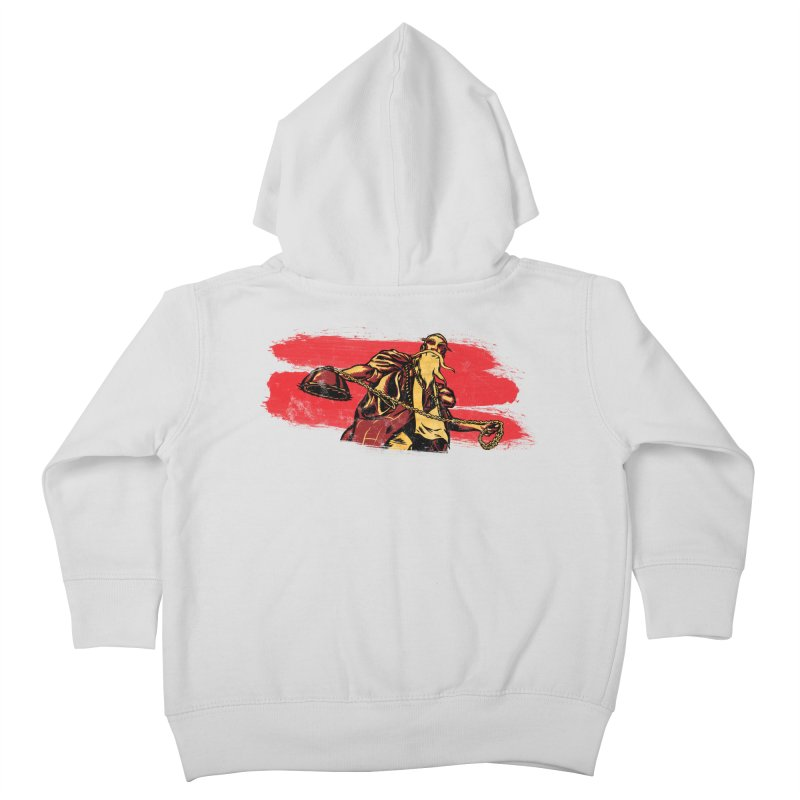 The Master of the Flying Guillotine Kids Toddler Zip-Up Hoody by legendaryweapons's Artist Shop
