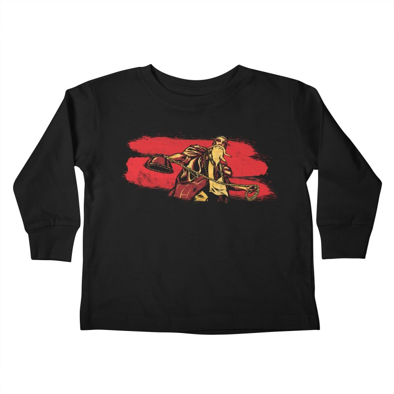 The Master of the Flying Guillotine Kids Toddler Longsleeve T-Shirt by legendaryweapons's Artist Shop