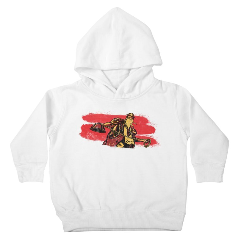 The Master of the Flying Guillotine Kids Toddler Pullover Hoody by legendaryweapons's Artist Shop