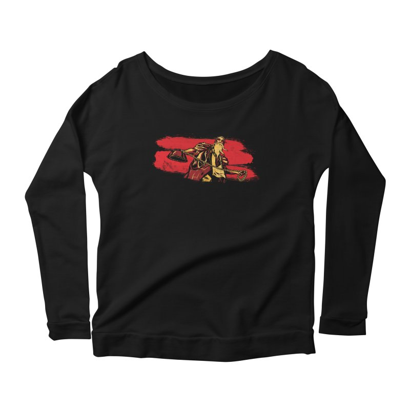 The Master of the Flying Guillotine Women's Scoop Neck Longsleeve T-Shirt by legendaryweapons's Artist Shop