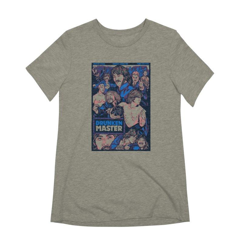 Drunken Master - Jackie Chan Women's Extra Soft T-Shirt by legendaryweapons's Artist Shop