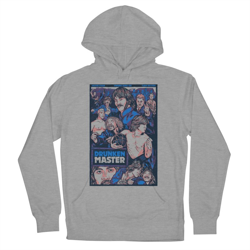 Drunken Master - Jackie Chan Women's French Terry Pullover Hoody by legendaryweapons's Artist Shop