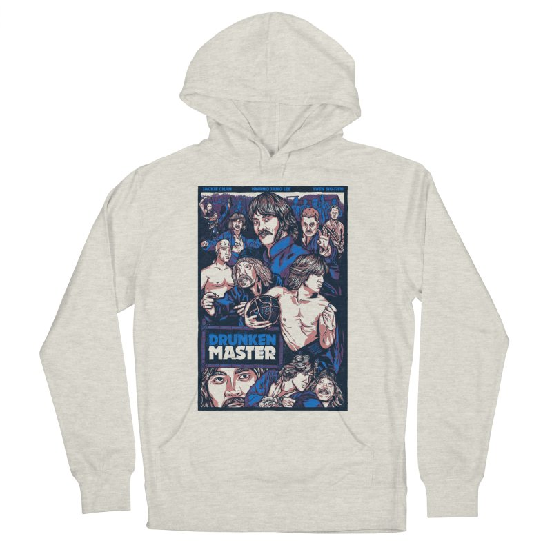 Drunken Master - Jackie Chan Men's French Terry Pullover Hoody by legendaryweapons's Artist Shop