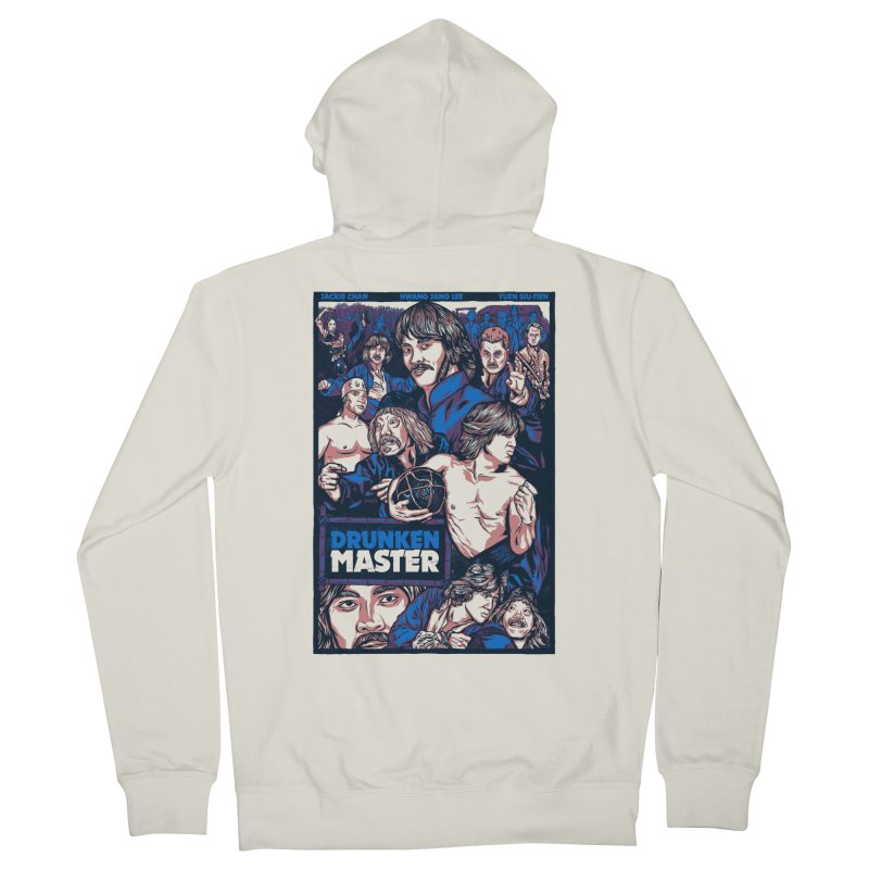 Drunken Master - Jackie Chan Women's Zip-Up Hoody by legendaryweapons's Artist Shop