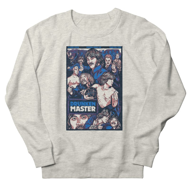 Drunken Master - Jackie Chan Men's French Terry Sweatshirt by legendaryweapons's Artist Shop