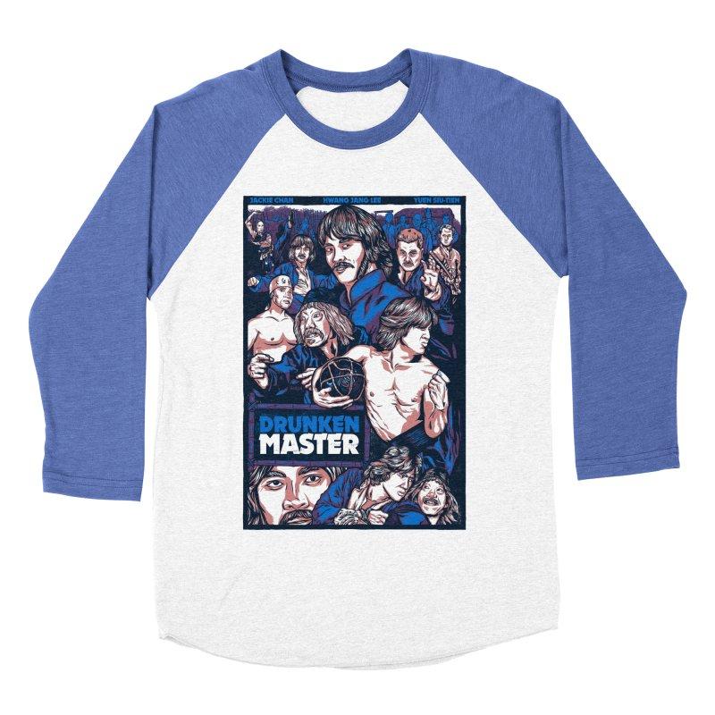 Drunken Master - Jackie Chan Men's Baseball Triblend Longsleeve T-Shirt by legendaryweapons's Artist Shop