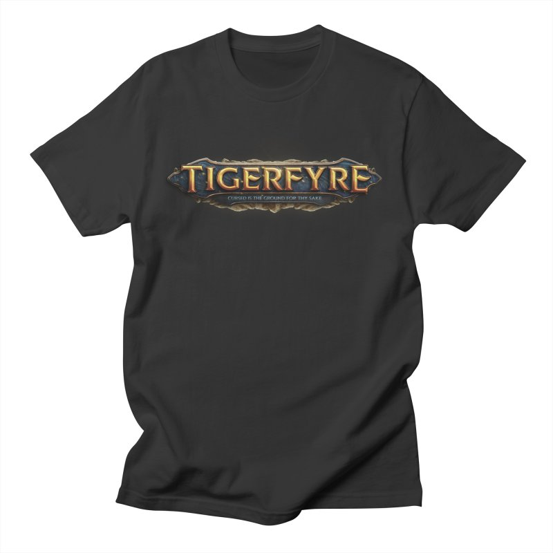Tigerfyre - Cursed Is the Ground for Thy Sake Merch Men's T-Shirt by Legend Studio Shop