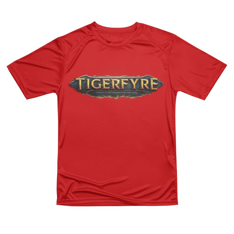 Tigerfyre - Cursed Is the Ground for Thy Sake Merch Women's Performance Unisex T-Shirt by Legend Studio Shop