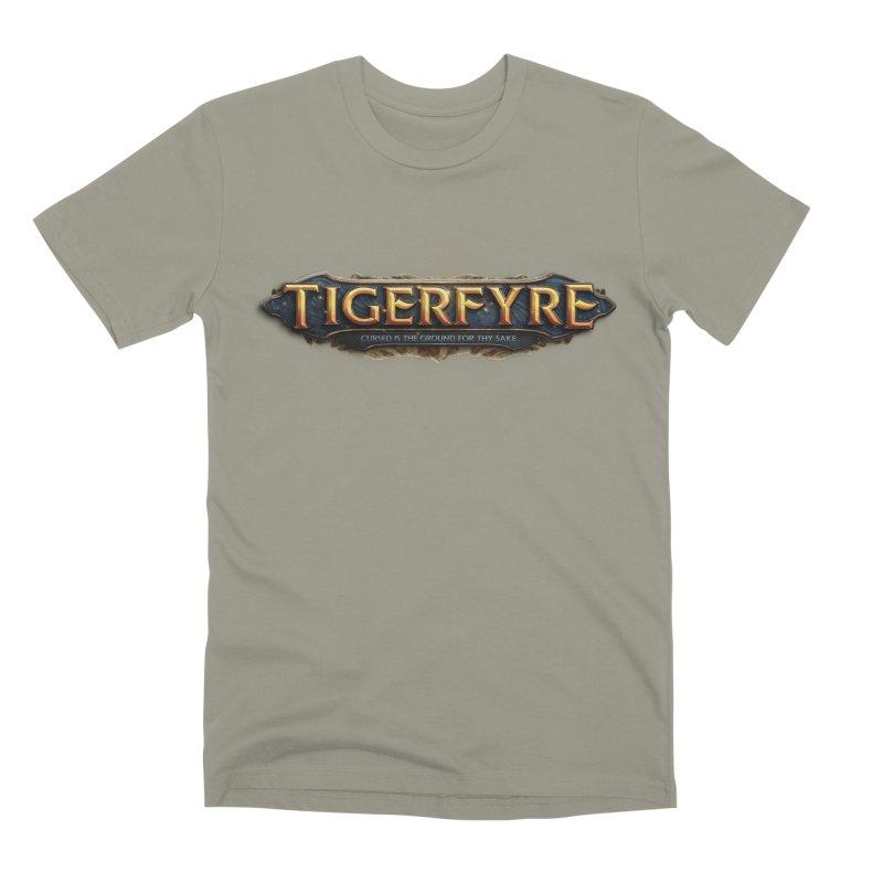 Tigerfyre - Cursed Is the Ground for Thy Sake Merch Men's Premium T-Shirt by Legend Studio Shop