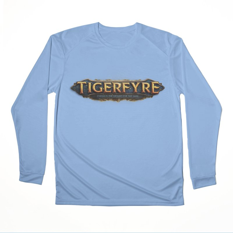 Tigerfyre - Cursed Is the Ground for Thy Sake Merch Men's Performance Longsleeve T-Shirt by Legend Studio Shop