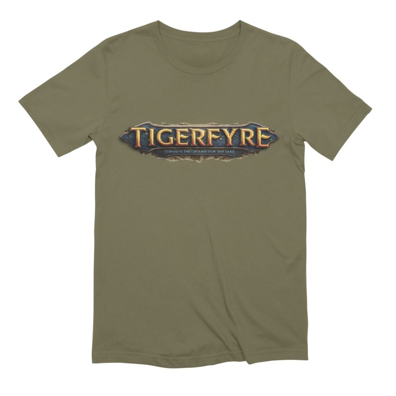 Tigerfyre - Cursed Is the Ground for Thy Sake Merch Men's Extra Soft T-Shirt by Legend Studio Shop