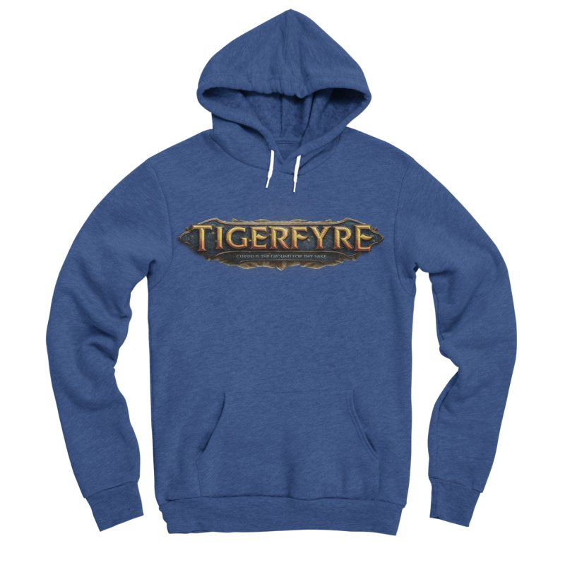 Tigerfyre - Cursed Is the Ground for Thy Sake Merch Men's Sponge Fleece Pullover Hoody by Legend Studio Shop