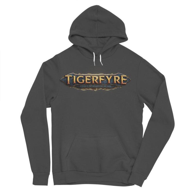 Tigerfyre - Cursed Is the Ground for Thy Sake Merch Men's Sponge Fleece Pullover Hoody by Legend Studio Shop