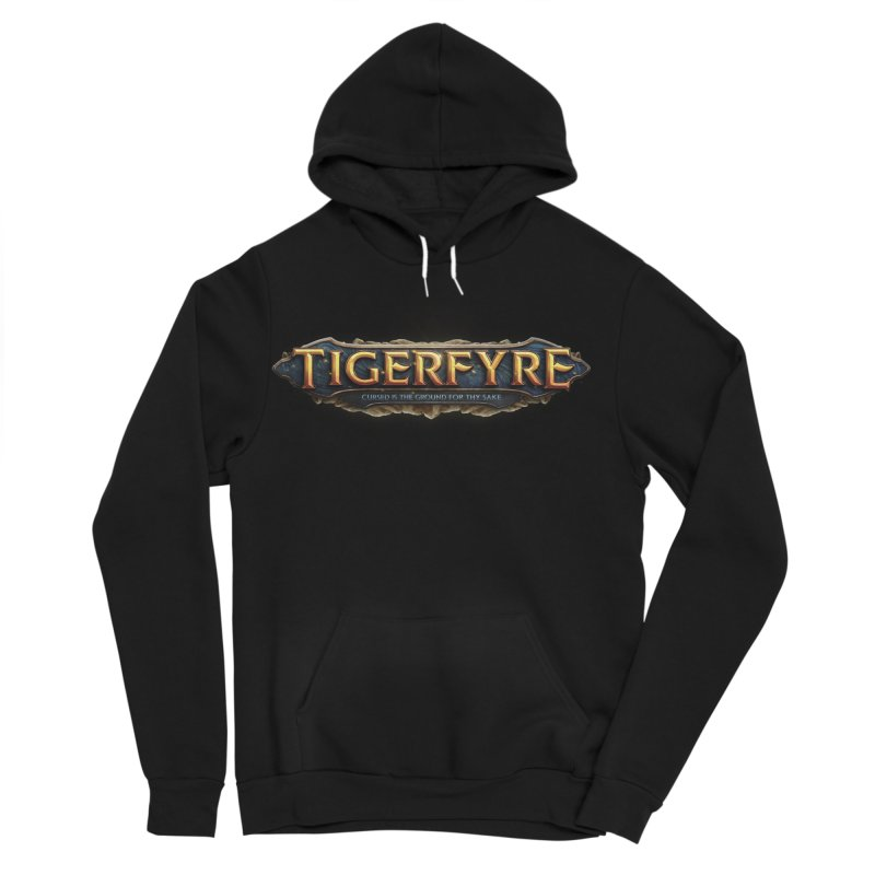 Tigerfyre - Cursed Is the Ground for Thy Sake Merch Women's Sponge Fleece Pullover Hoody by Legend Studio Shop