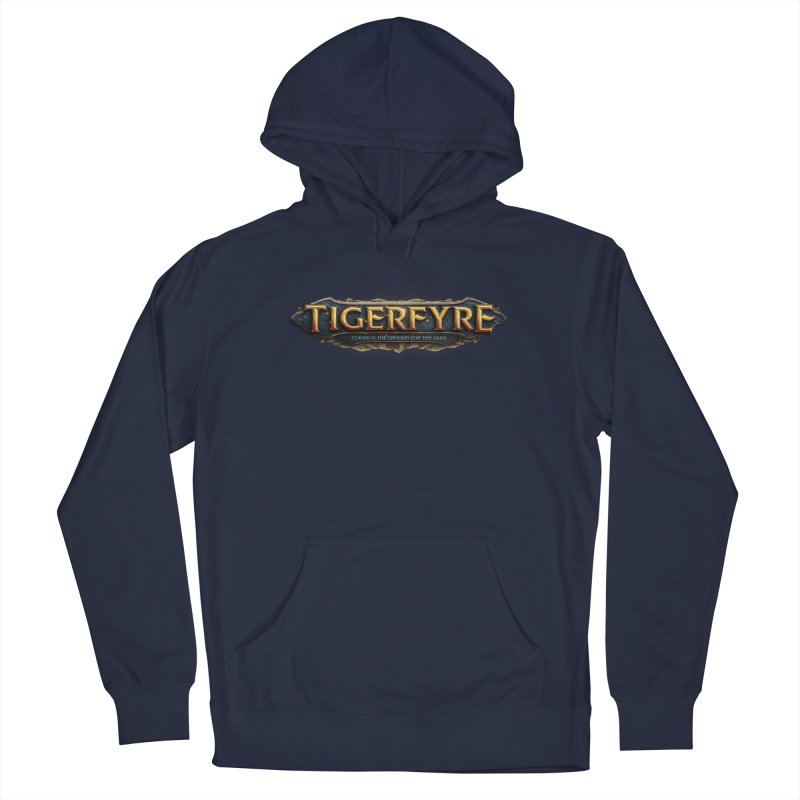 Tigerfyre - Cursed Is the Ground for Thy Sake Merch Men's Pullover Hoody by Legend Studio Shop