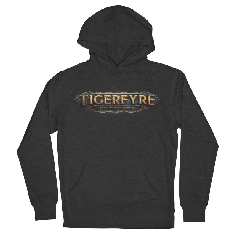 Tigerfyre - Cursed Is the Ground for Thy Sake Merch Women's French Terry Pullover Hoody by Legend Studio Shop
