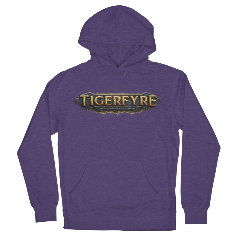 Tigerfyre - Cursed Is the Ground for Thy Sake Merch Men's French Terry Pullover Hoody by Legend Studio Shop