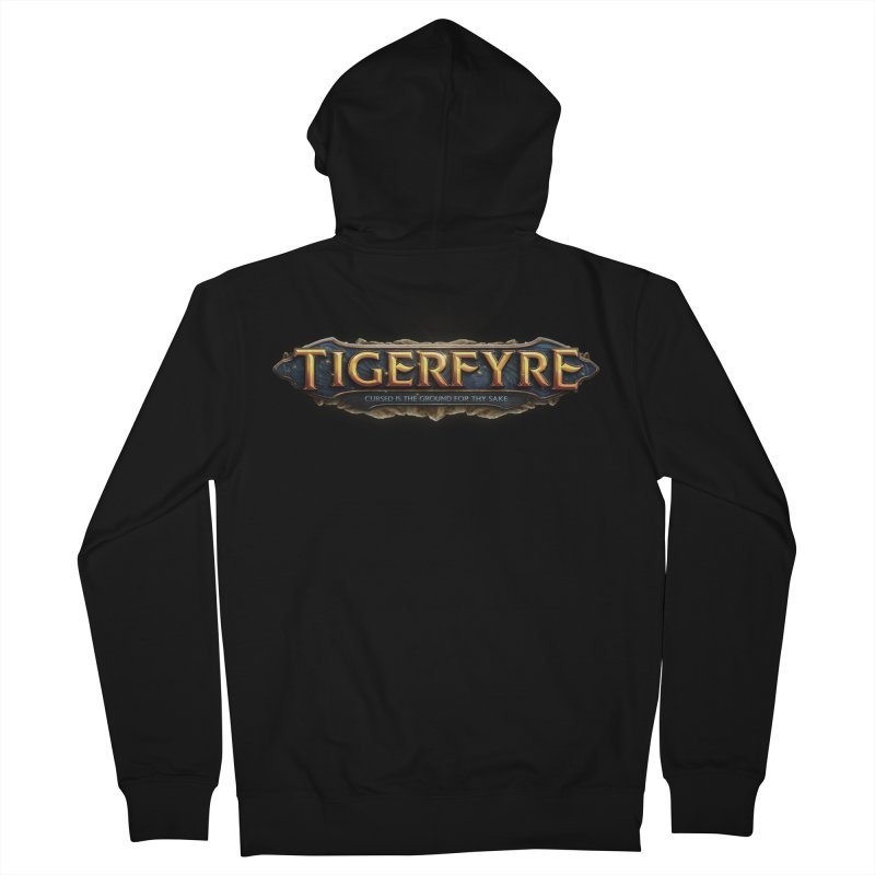 Tigerfyre - Cursed Is the Ground for Thy Sake Merch Women's Zip-Up Hoody by Legend Studio Shop