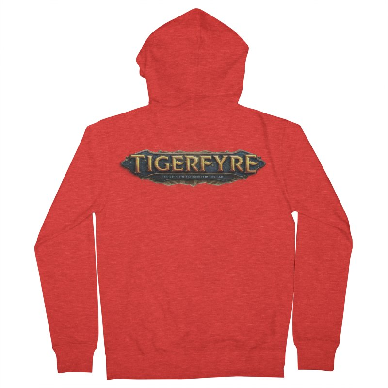 Tigerfyre - Cursed Is the Ground for Thy Sake Merch Men's Zip-Up Hoody by Legend Studio Shop