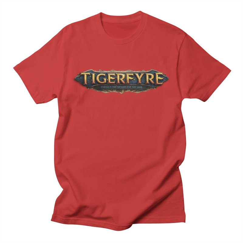 Tigerfyre - Cursed Is the Ground for Thy Sake Merch Men's Regular T-Shirt by Legend Studio Shop