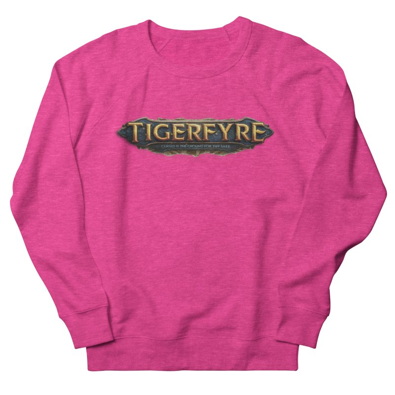 Tigerfyre - Cursed Is the Ground for Thy Sake Merch Men's French Terry Sweatshirt by Legend Studio Shop