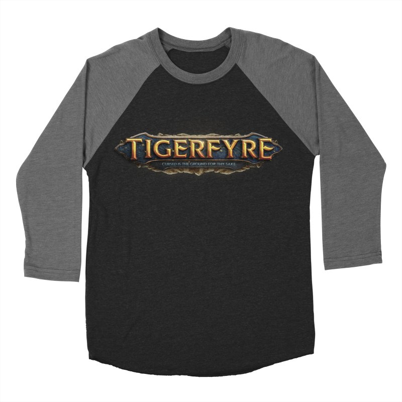 Tigerfyre - Cursed Is the Ground for Thy Sake Merch Women's Baseball Triblend Longsleeve T-Shirt by Legend Studio Shop