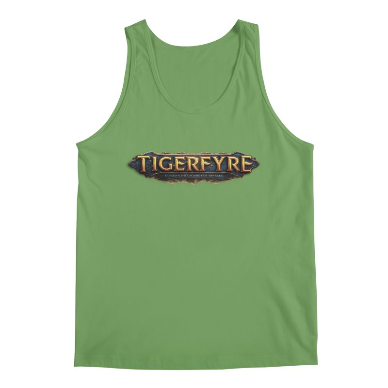 Tigerfyre - Cursed Is the Ground for Thy Sake Merch Men's Tank by Legend Studio Shop