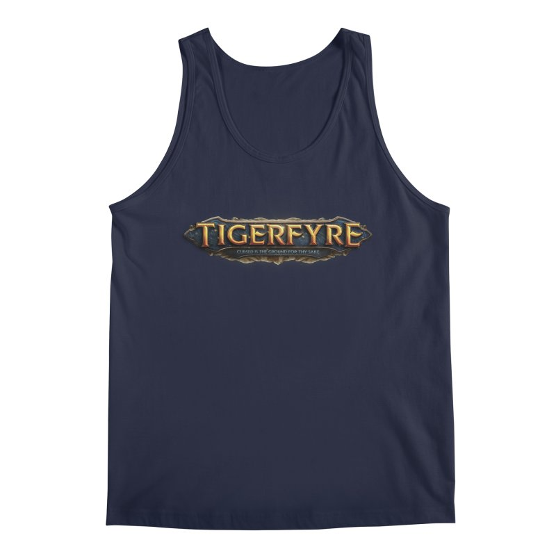 Tigerfyre - Cursed Is the Ground for Thy Sake Merch Men's Regular Tank by Legend Studio Shop
